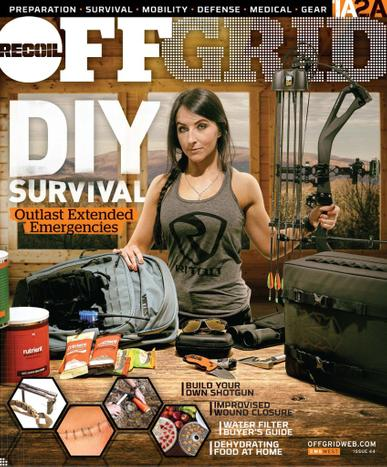 Recoil Offgrid Magazine August 1st, 2021 Issue Cover