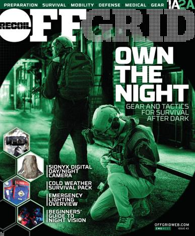 Recoil Offgrid Magazine June 1st, 2021 Issue Cover