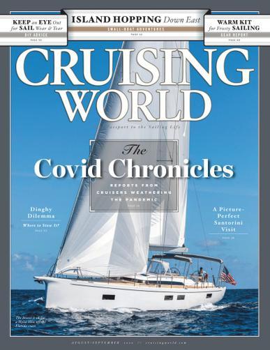 Cruising World Magazine September 1st, 2020 Issue Cover