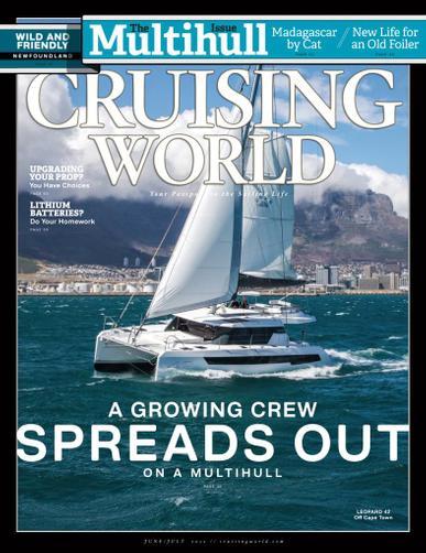 Cruising World Magazine June 1st, 2021 Issue Cover