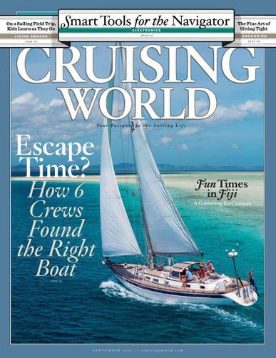 Cruising World Magazine September 1st, 2021 Issue Cover