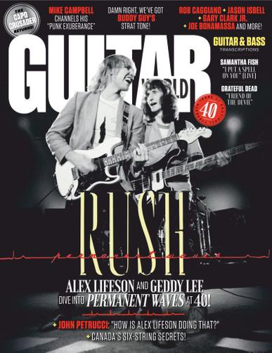 Guitar World Magazine October 1st, 2020 Issue Cover