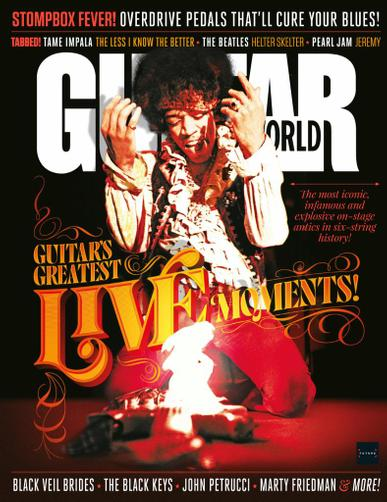 Guitar World Magazine August 1st, 2021 Issue Cover