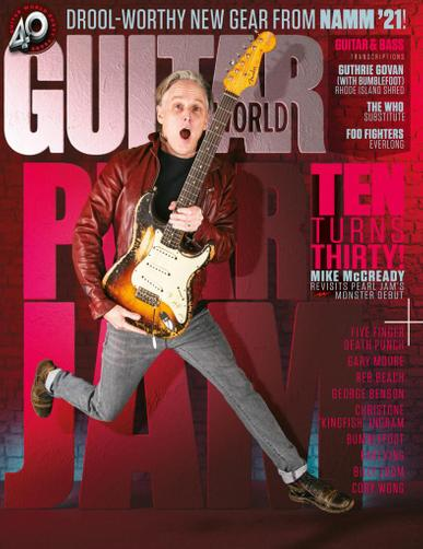 Guitar World Magazine May 1st, 2021 Issue Cover