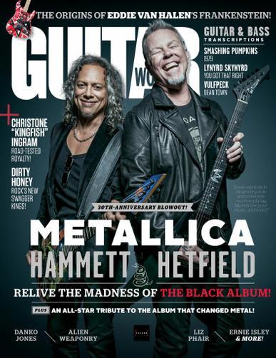 Guitar World Magazine November 1st, 2021 Issue Cover