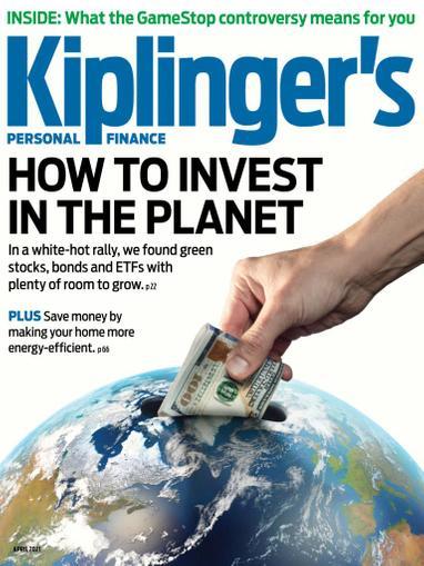 Kiplinger's Personal Finance Magazine April 1st, 2021 Issue Cover