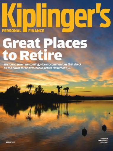 Kiplinger's Personal Finance Magazine August 1st, 2021 Issue Cover