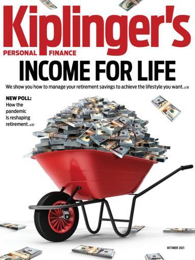 Kiplinger's Personal Finance Magazine October 1st, 2021 Issue Cover