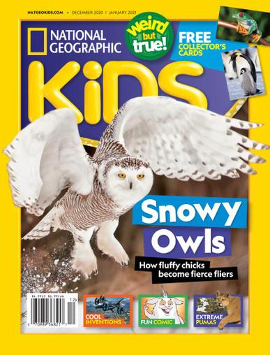 National Geographic Kids Magazine December 1st, 2020 Issue Cover