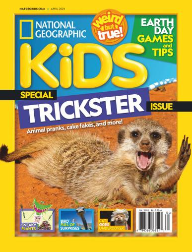National Geographic Kids Magazine April 1st, 2021 Issue Cover