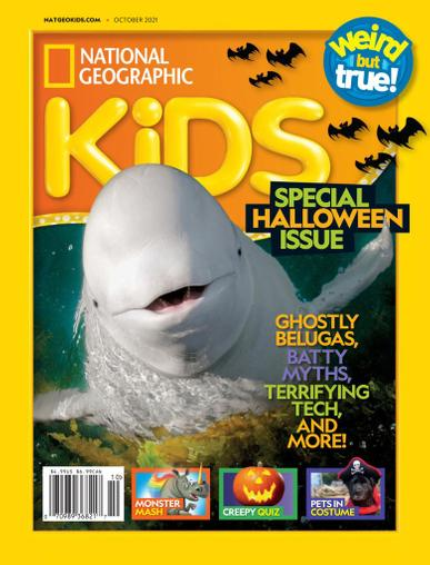 National Geographic Kids Magazine October 1st, 2021 Issue Cover