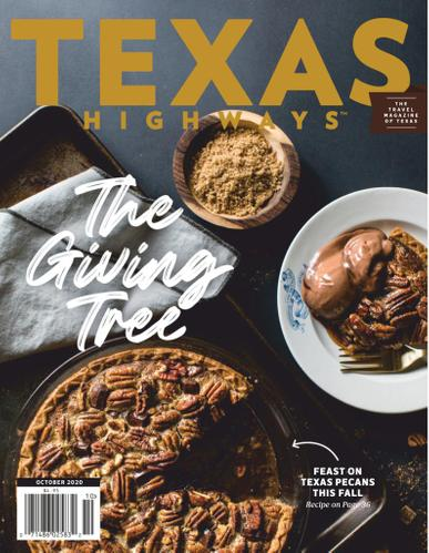 Texas Highways Magazine October 1st, 2020 Issue Cover