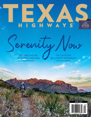 Texas Highways Magazine April 1st, 2021 Issue Cover