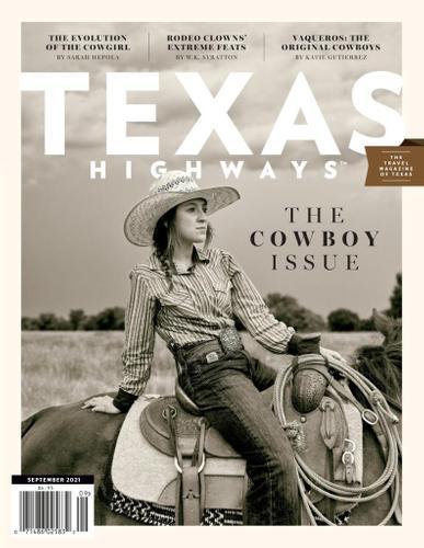 Texas Highways Magazine September 1st, 2021 Issue Cover