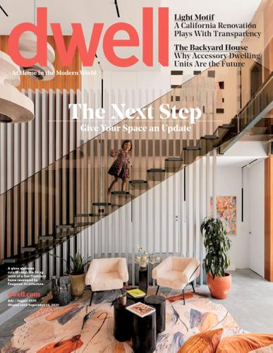 Dwell Magazine July 1st, 2020 Issue Cover