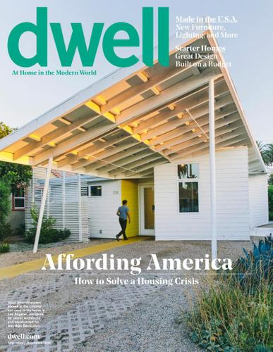 Dwell Magazine November 1st, 2020 Issue Cover