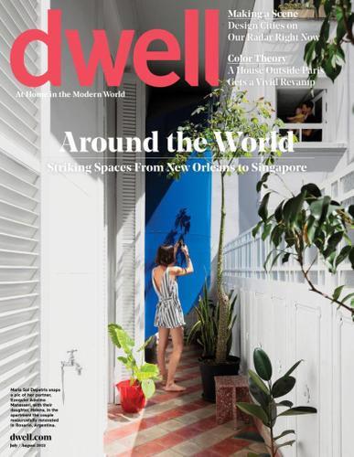 Dwell Magazine July 1st, 2021 Issue Cover