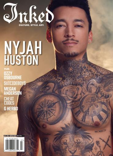 Inked Magazine July 1st, 2020 Issue Cover