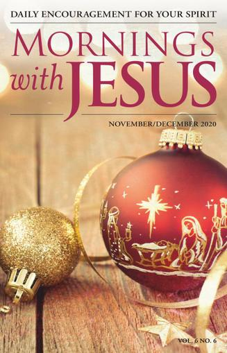 Mornings With Jesus Magazine November 1st, 2020 Issue Cover