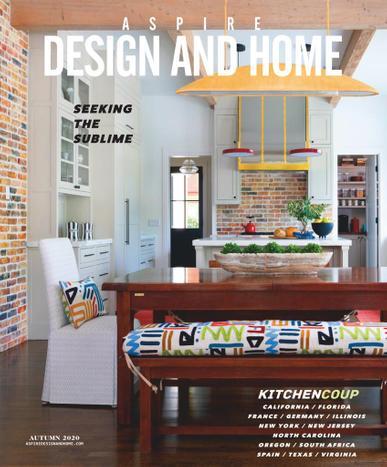 Aspire Design & Home Magazine October 1st, 2020 Issue Cover
