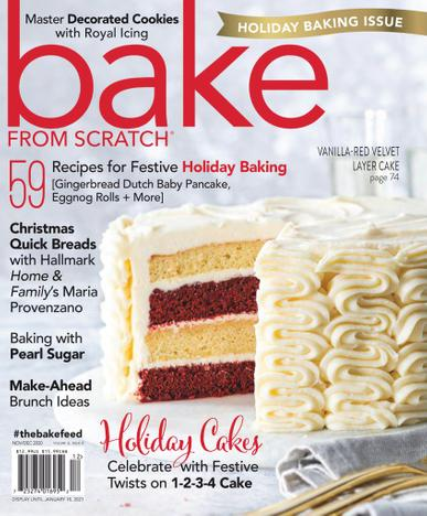 Bake From Scratch Magazine November 1st, 2020 Issue Cover
