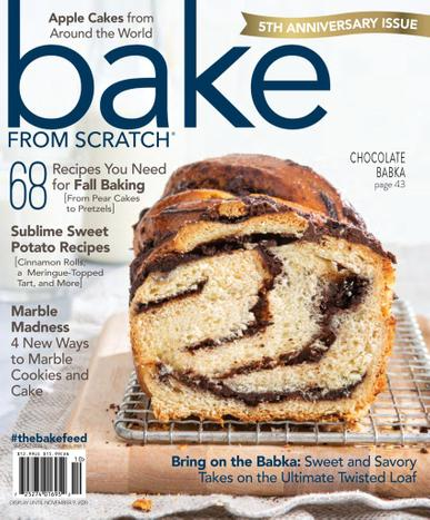 Bake From Scratch Magazine September 1st, 2020 Issue Cover