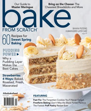Bake From Scratch Magazine March 1st, 2021 Issue Cover