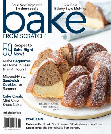 Bake From Scratch Magazine May 1st, 2021 Issue Cover