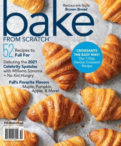 Bake From Scratch Magazine September 1st, 2021 Issue Cover