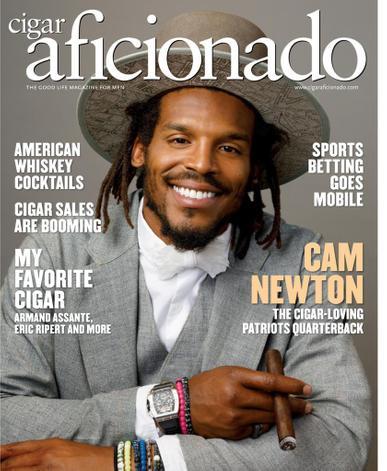 Cigar Aficionado Magazine July 1st, 2021 Issue Cover