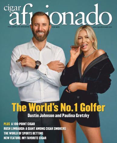 Cigar Aficionado Magazine March 1st, 2021 Issue Cover