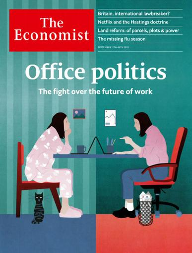 The Economist Print & Digital September 12th, 2020 Issue Cover