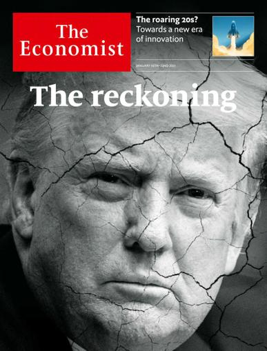 The Economist Print & Digital January 16th, 2021 Issue Cover