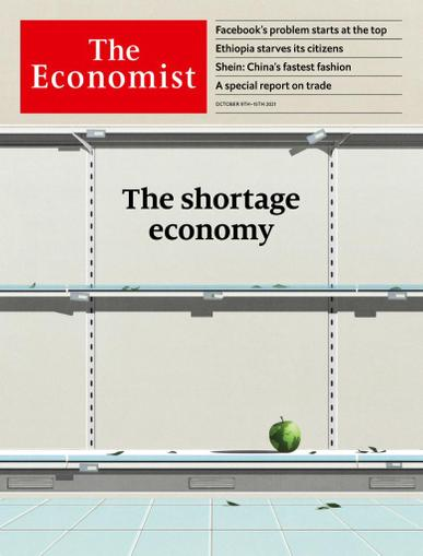The Economist Print & Digital October 9th, 2021 Issue Cover