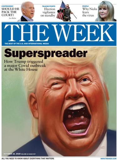 The Week Magazine October 16th, 2020 Issue Cover
