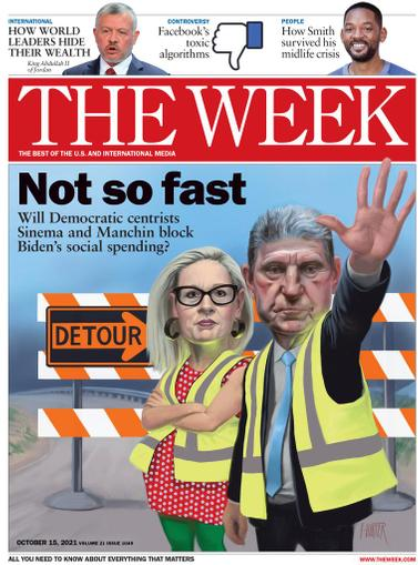 The Week Magazine October 15th, 2021 Issue Cover