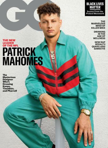 GQ Magazine August 1st, 2020 Issue Cover