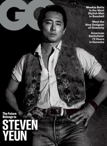 GQ Magazine April 1st, 2021 Issue Cover