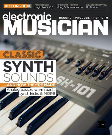Electronic Musician Magazine October 1st, 2020 Issue Cover
