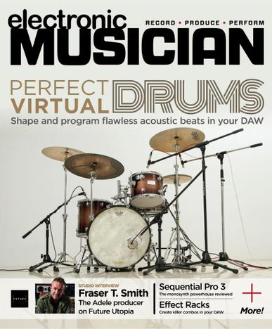 Electronic Musician Magazine April 1st, 2021 Issue Cover