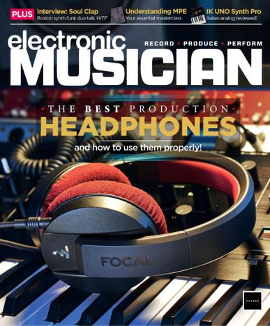 Electronic Musician Magazine August 1st, 2021 Issue Cover
