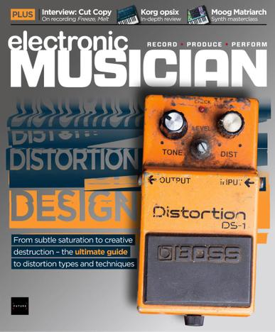 Electronic Musician Magazine March 1st, 2021 Issue Cover
