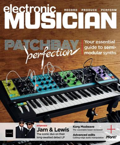 Electronic Musician Magazine October 1st, 2021 Issue Cover
