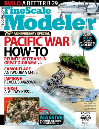 Finescale Modeler Magazine September 1st, 2020 Issue Cover