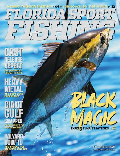 Florida Sport Fishing Magazine July 1st, 2020 Issue Cover