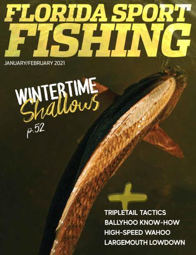 Florida Sport Fishing Magazine January 1st, 2021 Issue Cover