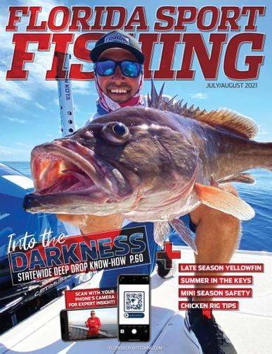 Florida Sport Fishing Magazine July 1st, 2021 Issue Cover