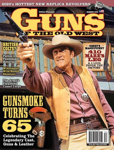 Guns Of The Old West Magazine April 1st, 2020 Issue Cover