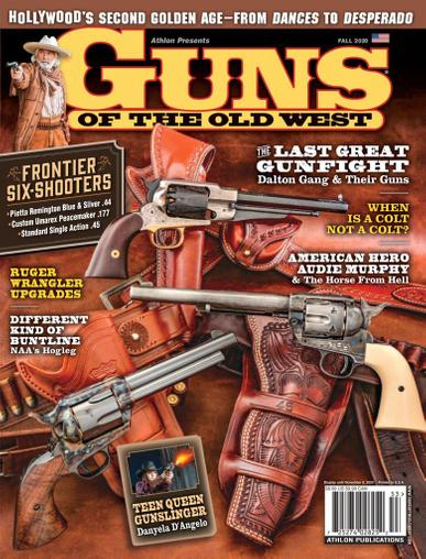Guns Of The Old West Magazine August 1st, 2020 Issue Cover
