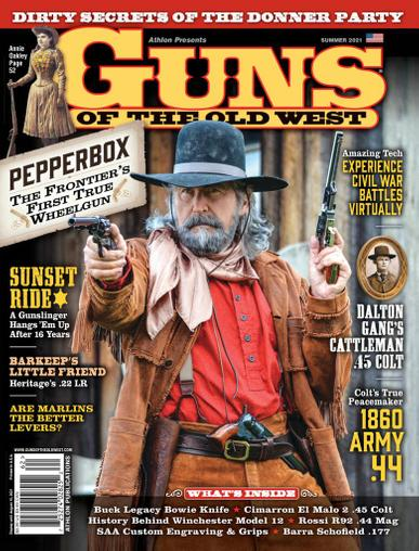 Guns Of The Old West Magazine May 1st, 2021 Issue Cover
